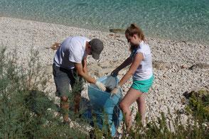Mirno More aktiv in Kroatien