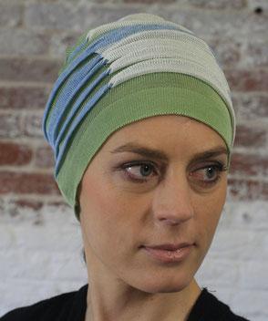 muts na chemo van katoen bij haarverlies