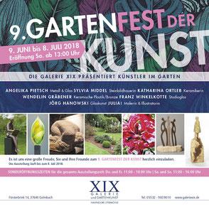 9. Gartenfest der Kunst, Galiere IXI, Golmbach