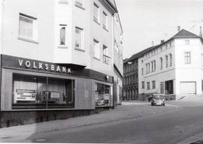 dudweiler, saarbruecken, volksbank, bahnhofstrasse
