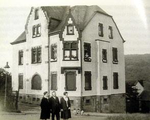 dudweiler, saarbruecken, webers schlössje, jakob weber, 1906