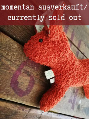Kuscheltier Wolf / Cuddly Toy Wolf