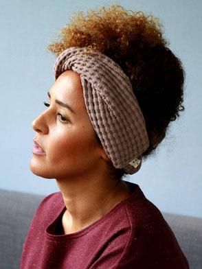 Haarband, Leichter Sweat, Türkis / Bandana, Light Sweat, Turquoise