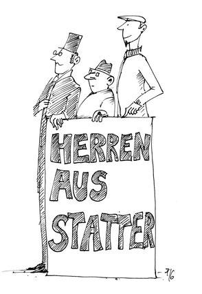 Wortspielerei ... Herren aus Statter ... Herrenausstatter? ... :)