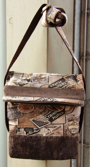 Simple, ohne Schnickschnack - die Tasche für den Mann!