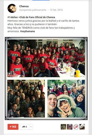 Google + Chenoaoficial