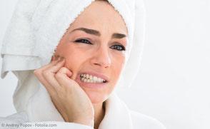Empfindliche Zähne durch Zahnfleischrückgang