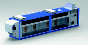 Сушильное оборудование NEWtainer® PS для шламов
