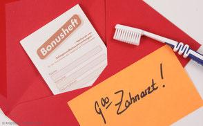 Bonusheft Geld sparen beim Zahnarzt
