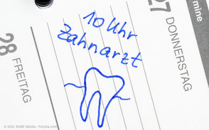 Gern erinnern wir Sie an Ihren Zahnarzttermin