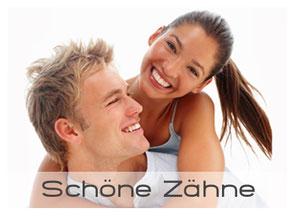 Bild: Schöne weisse Zähne mit Bleaching (Zahnaufhellung) Veneers und Keramik (© Yuri Arcurs - Fotolia.com)