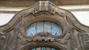 Dieses Portal durchschritten Kurdirektoren und Großherzog Ernst Ludwig von Hessen und bei Rhein