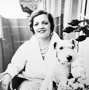 Großmutter Christine Pfeffer 1925