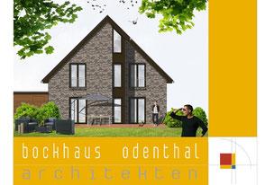 Bild3: Gartenansicht, schöner Wohnen,Fassade ABC-Klinker,Carport,Audi,Eckfenster,Trespa
