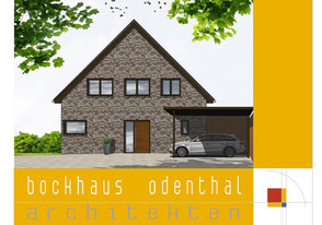 Bild1: Eingangsansicht, schöner Wohnen,Fassade ABC-Klinker,Carport,Audi,Eckfenster,Trespa