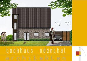 Bild2:Seitenansicht, schöner Wohnen,Fassade ABC-Klinker,Carport,Audi,Eckfenster,Trespa