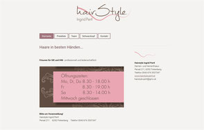 Websites Erika Mitterer Homepages günstig und professionell