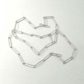 handgemachte Gliederkette- Silber € 410.-