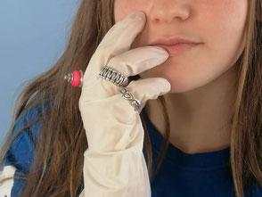 Freundschaftsband - Ring | Silber, teilweise geschwärzt | € 240.-