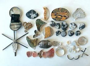 diverse Materialien
