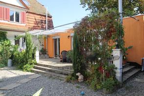 Haus und Veranda
