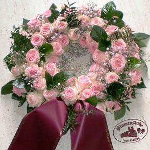 Taruergesteck in rosa