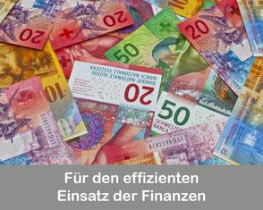 Für den effizienten Einsatz der Finanzen