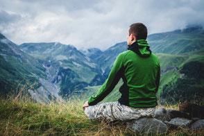 Meditation auf einer Alpe - WegezumSein.com