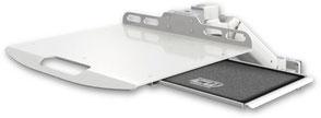業務用モニターアーム ウォールチャネルマウント 壁面固定 昇降式 ノートパソコン用アーム:ASUL180-W5-LUS