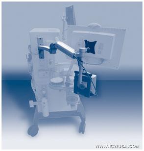ICW, モニターアーム, UL180, 日本光電, G9, CSM1900, 麻酔器, 生体情報モニター