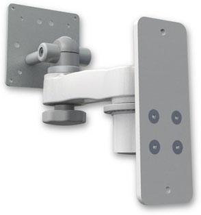 ウォールマウント 壁取付用ショートモニターアーム: ASEV65-W2-AS1