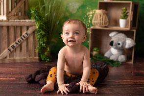 Photographe à domicile Bébé 1 an dijon beaune chalon sur saône dole auxonne