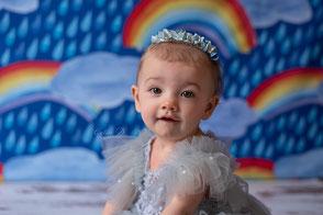 Séance photo bébé 1 an smash the cake dijon beaune chalon sur saône dole anniversaire