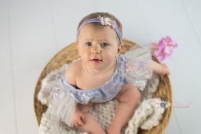 séance photo bébé 6 mois anniversaire dijon beaune dole
