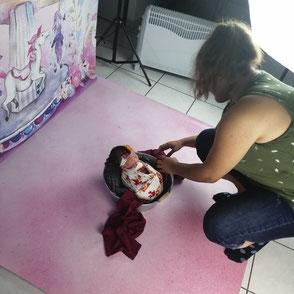 Celia D. Photographie séance photo naissance nouveau-né bébé dijon beaune dole chalon sur saône