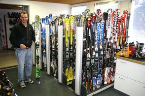 Claudio Borra Leitung Ski-Vermietung Bodmi