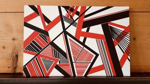 Beim Tape Art Workshop gestalten deine Teams aus farbigen Klebebändern tolle Bilder