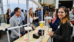 Teamevent Kugelbahn: Aus unterschiedlichsten Materialien wird eine beeindruckende Kugelbahn gebaut.