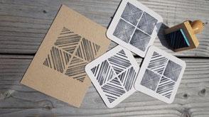 Teamevent Idee Stempelworkshop: Eigene Karten kreieren mit tollen Sujets