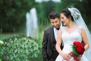 Braut und Bräutigam in Bad Wildungen Hochzeit