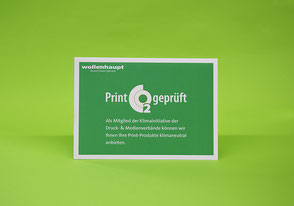 Print CO2-zertifiziert
