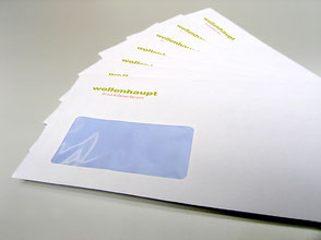 Briefumschläge, Briefbogen