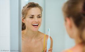 Besonders wichtig: Gute Zahn- und Mundpflege