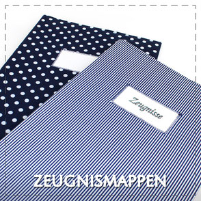 Julia Design Handarbeit handmade Zeugnismappe Zeugnis Mappe Dokumentenmappe DIN A4