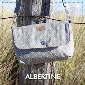 Julia Design Handarbeit handmade Tasche bag Stoff Gürteltasche Bauchtasche Albertine