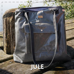 Julia Design Handarbeit handmade Tasche bag Stoff Shopper Jule