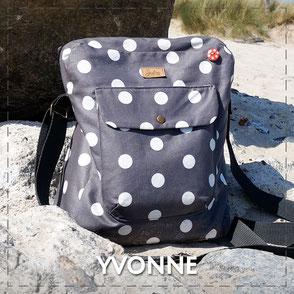 Julia Design Handarbeit handmade Tasche bag Stoff Crossbodytasche Yvonne