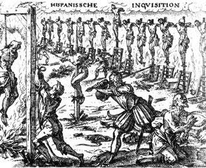 Francescani accusatori, Domenicani giudici e torturatori, i loro discendenti di oggi santi e martiri. Un nuovo Francesco rivendica, un San Francesco è smarrito: Dio non risponde.