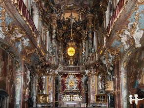Prachtvoll: Die Asamkirche in München.