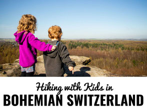Hiking in Bohemian Switzerland with kids